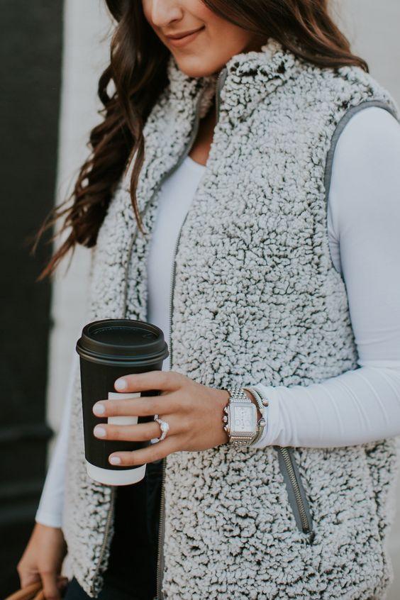 cute vest outfit