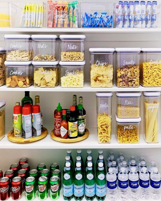 organizing containers